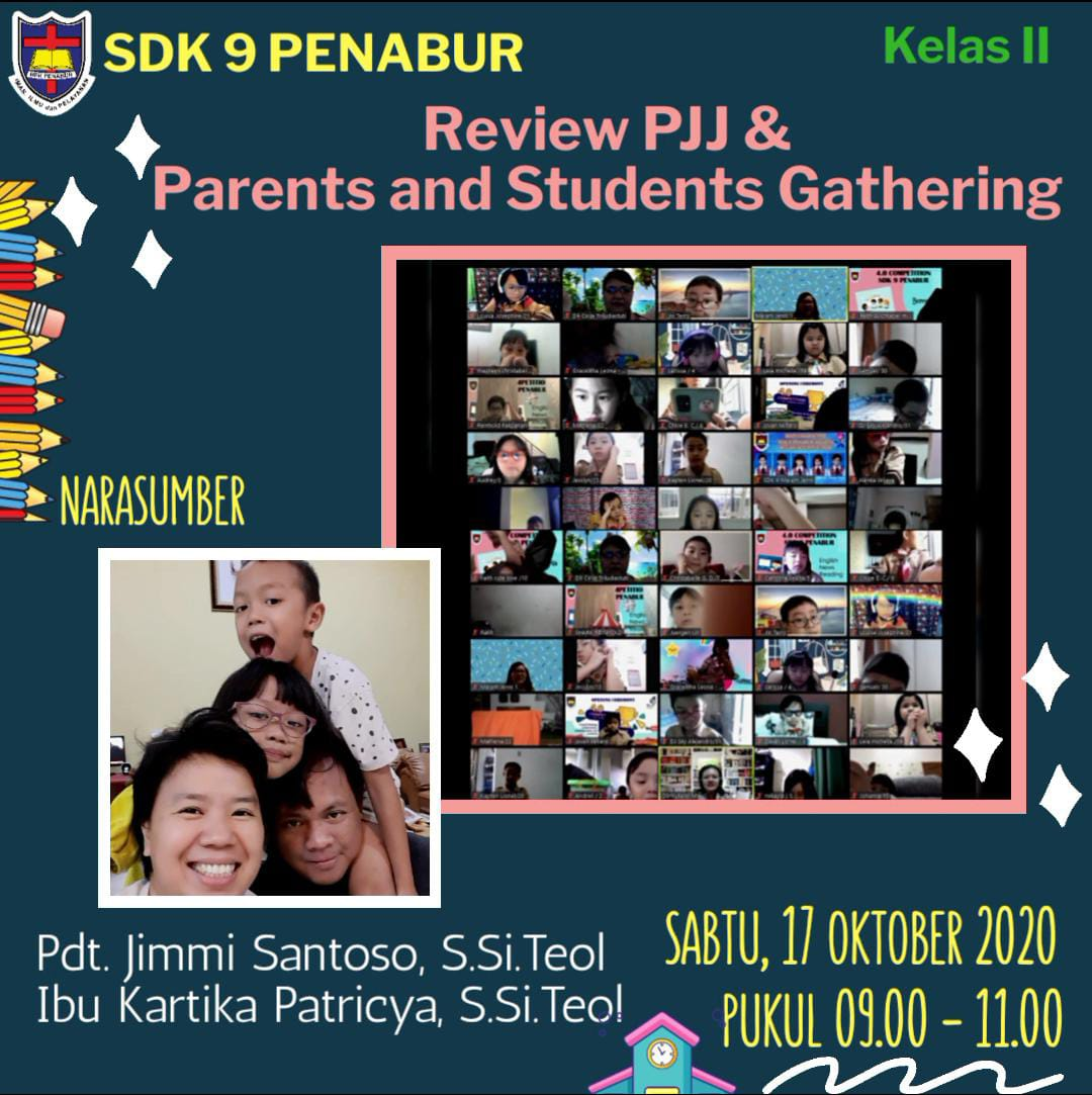 Review PJJ & Parents and Students Gathering Kelas II