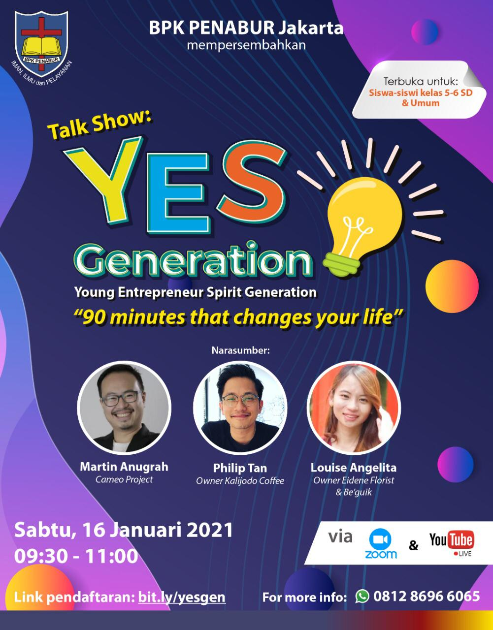 YES Generation-entrepreneurship