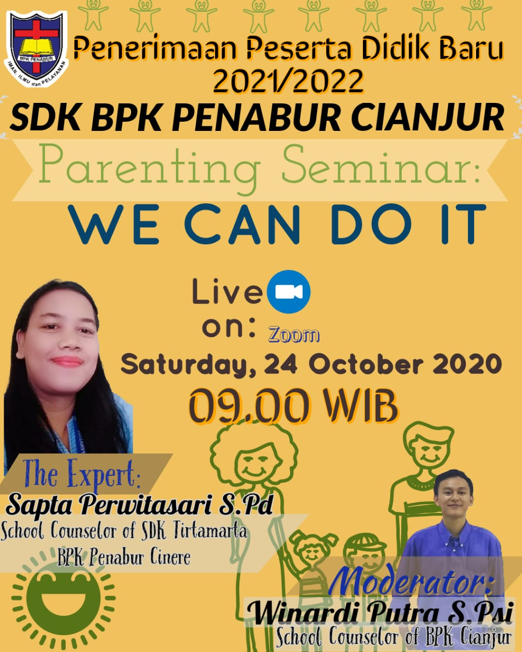Parenting Seminar: WE CAN DO IT