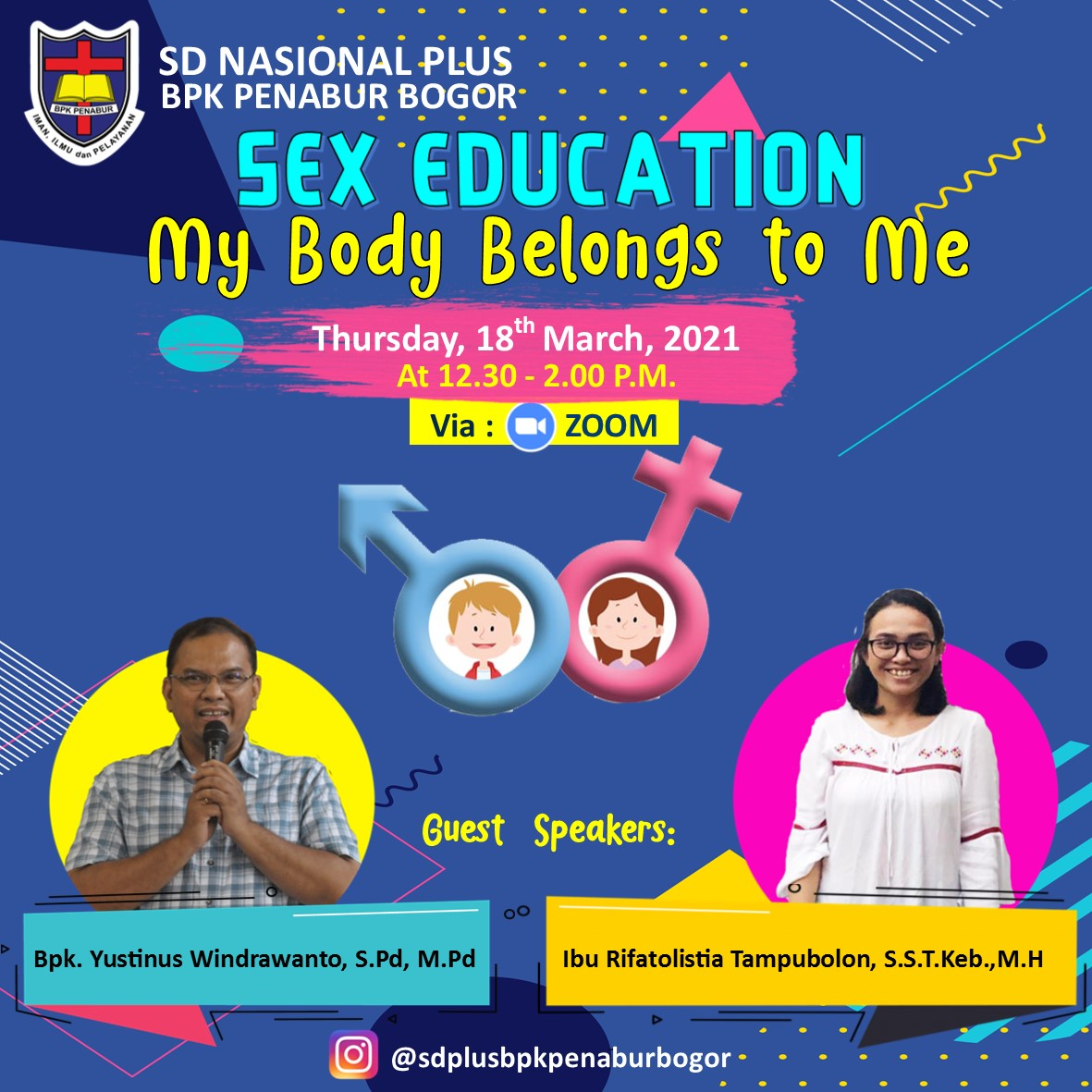 "Parenting Webinar ""My Body Belongs to Me"""
