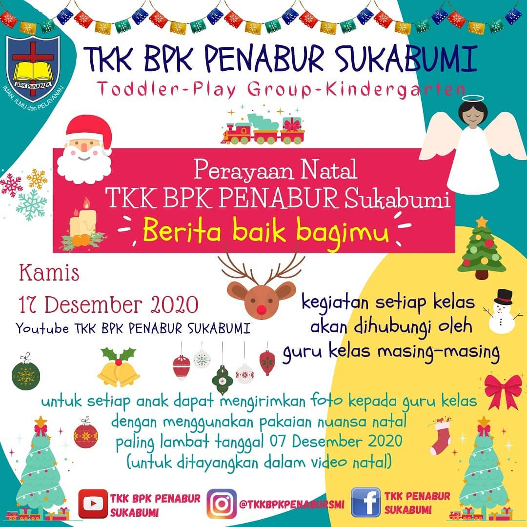 Sekolah Kristen BPK PENABUR Terbaik & Favorit di Sukabumi