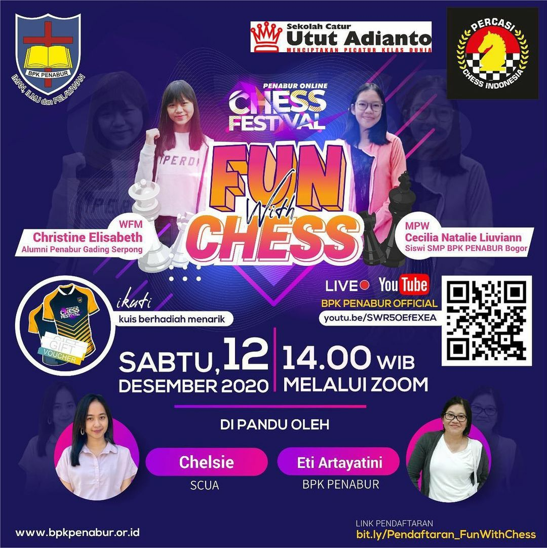 PENABUR Online Chess Festival: FUN WITH CHESS