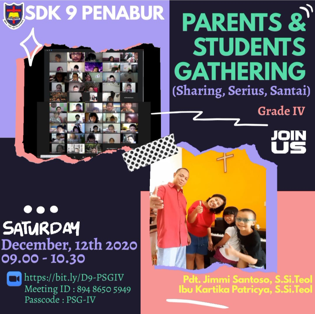 Parents Students and Gathering Grade IV