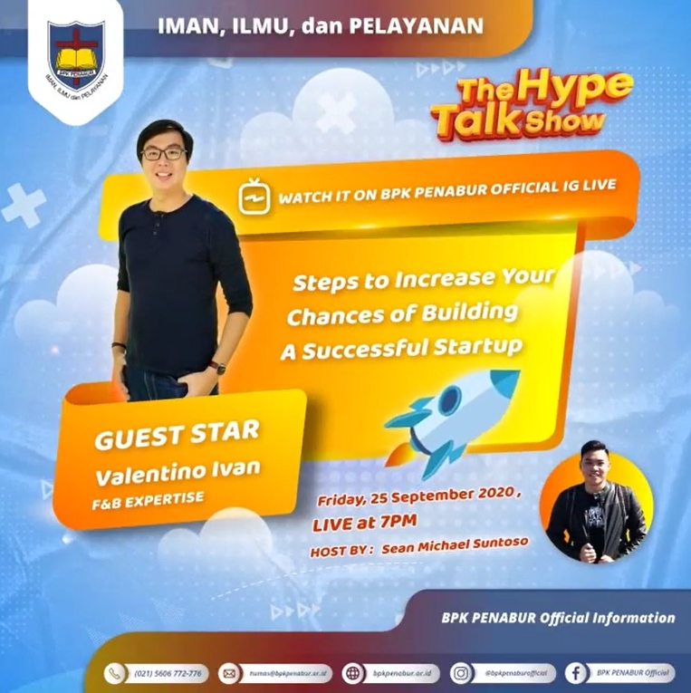 The Hype Talk Show: Steps to Increase Your Chances of Building A Successful Startup