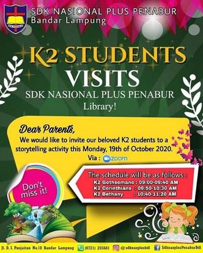K2 Students Visits SDK NASIONAL PLUS PENABUR Bandar ...